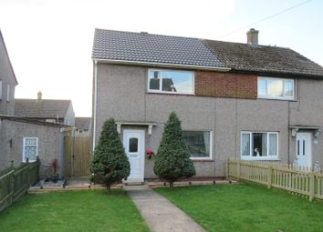 Thumbnail 2 bed semi-detached house for sale in Wythburn Road, Whitehaven