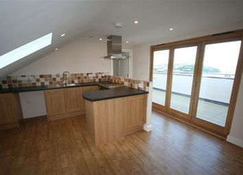 Thumbnail 1 bed flat to rent in Trebarwith Crescent, Newquay