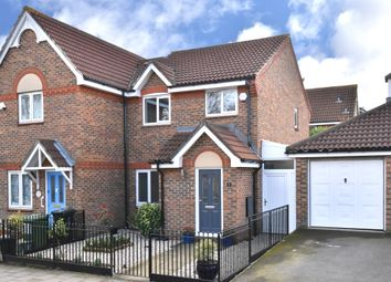 Thumbnail 3 bed semi-detached house for sale in Ridgewell Close, London