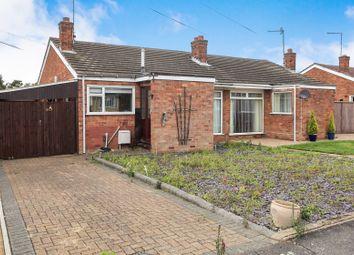 Thumbnail 2 bed semi-detached bungalow for sale in Basil Green, Orton Longueville, Peterborough