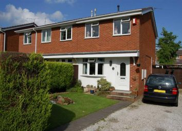 Thumbnail 2 bed semi-detached house to rent in Halesworth Crescent, Clayton, Newcastle-Under-Lyme