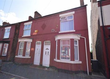 Thumbnail 2 bedroom semi-detached house to rent in Brentwood Street, Wallasey, Wirral