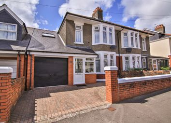 Thumbnail 3 bed semi-detached house for sale in Franklen Road, Whitchurch, Cardiff