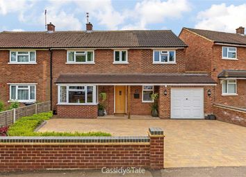 Thumbnail 4 bed semi-detached house for sale in Cavan Drive, St Albans, Hertfordshire