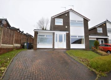 Thumbnail 3 bed detached house for sale in Kingsley Close, Ashton-Under-Lyne