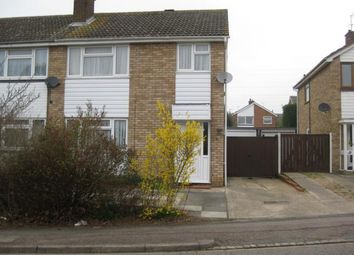 Thumbnail 3 bedroom semi-detached house to rent in Nightingdale Avenue, Bedford