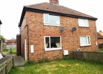 Thumbnail 2 bed semi-detached house for sale in Kent Terrace, Haswell, Durham