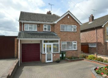 Thumbnail 4 bed detached house for sale in Ratcliffe Drive, Huncote, Leicester