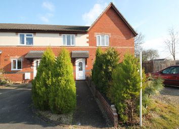 Thumbnail 2 bed terraced house to rent in Hillbourne Close, Warminster, Wiltshire