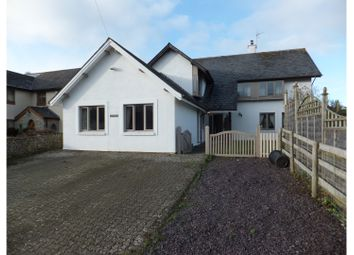 Thumbnail 5 bed detached house for sale in Llanbethery, Barry