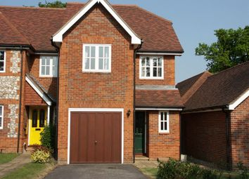 Thumbnail 3 bed end terrace house to rent in Oakfield Close, Amersham, Buckinghamshire