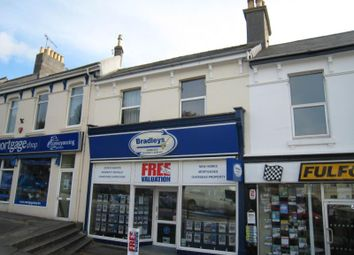 Thumbnail 2 bed flat to rent in Mannamead Road, Mutley, Plymouth, Devon