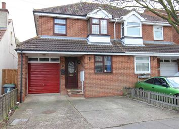 Thumbnail 3 bed semi-detached house for sale in Leighwood Avenue, Leigh-On-Sea
