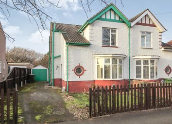Thumbnail 3 bed semi-detached house for sale in Isham Road, Peterborough