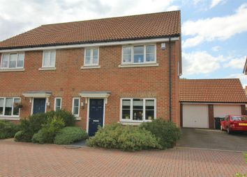 Thumbnail 4 bed semi-detached house for sale in Magnolia Way, Cheshunt, Herts