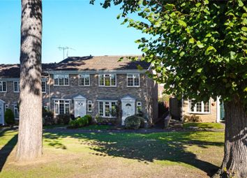 Thumbnail 3 bed terraced house for sale in Hillcrest, Weybridge, Surrey