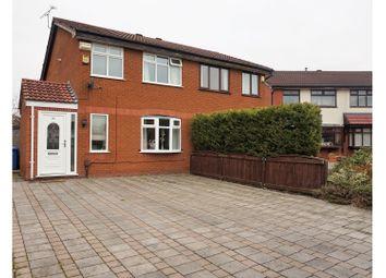 Thumbnail 3 bed semi-detached house for sale in Montrose Close, Warrington