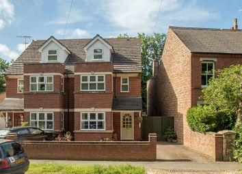 Thumbnail 4 bed town house for sale in Barnack Road, Stamford