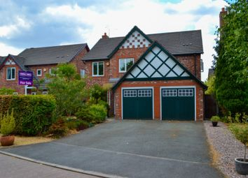Thumbnail 4 bed detached house for sale in Sandringham Close, Northwich