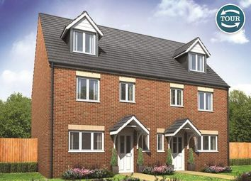 Thumbnail 4 bed end terrace house for sale in Plot 24, Leicester, Hampton Gardens, Hampton, Peterborough