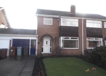 Thumbnail 3 bed semi-detached house to rent in Long Lane South, Middlewich