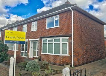 Thumbnail 3 bed semi-detached house to rent in Tudor Road, West Bridgford, Nottingham