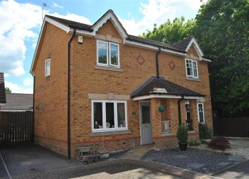 Thumbnail 2 bed semi-detached house for sale in Thetford Way, Taw Hill, Swindon