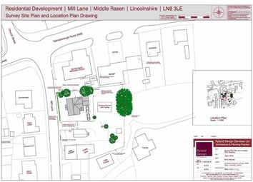 Thumbnail Land for sale in Mill Lane, Middle Rasen