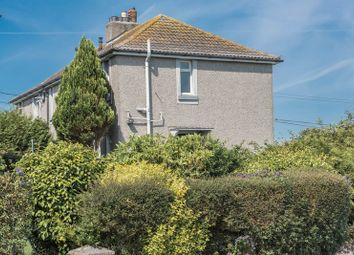 Thumbnail 1 bed flat for sale in Chywoone Avenue, Newlyn, Penzance