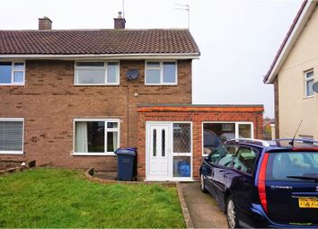 Thumbnail 3 bed semi-detached house for sale in Castle Park Road, Burton-On-Trent