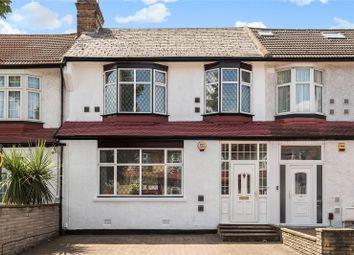 Thumbnail 3 bedroom terraced house for sale in Callard Avenue, Palmers Green, London