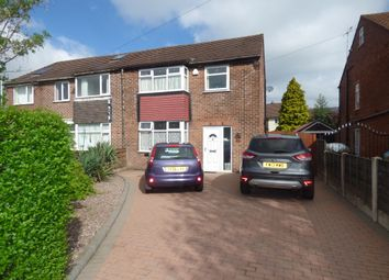 Thumbnail 3 bed semi-detached house for sale in Hillcrest Road, Offerton, Stockport