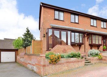 Thumbnail 3 bed semi-detached house for sale in Morland Drive, Strood, Rochester, Kent