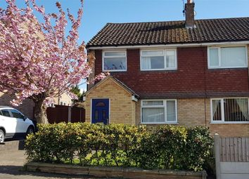 Thumbnail 3 bed semi-detached house for sale in Hailsham Close, Mickleover, Derby