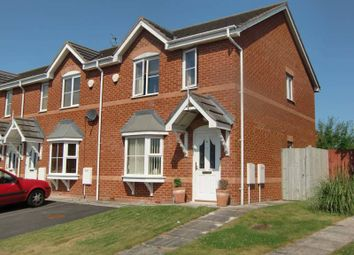 Thumbnail 2 bedroom end terrace house for sale in Roscoe Avenue, Thornton-Cleveleys