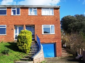 Thumbnail 3 bed semi-detached house to rent in Stacey Close, Parkstone, Poole