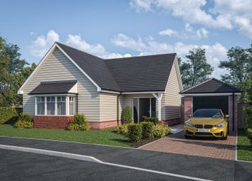 Thumbnail Detached bungalow for sale in Off Whichers Gate Road, Rowlands Castle