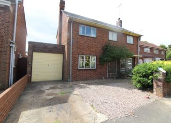 Thumbnail 3 bed detached house for sale in Gildenburgh Avenue, Peterborough