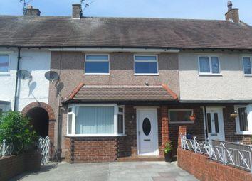 Thumbnail 2 bed terraced house to rent in Brockholes Crescent, Poulton Le Fylde