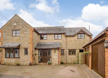 Thumbnail 4 bed detached house for sale in Station Road, Helmdon, Brackley, Northamptonshire