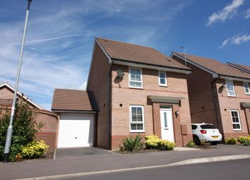Thumbnail 3 bed detached house for sale in Taunton Way, Retford
