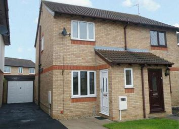 Thumbnail 2 bed semi-detached house to rent in Teasles, Deeping St James, Peterborough