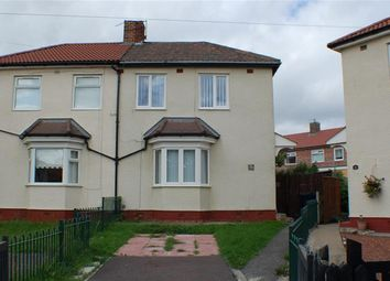 Thumbnail Semi-detached house for sale in Dunlop Crescent, South Shields