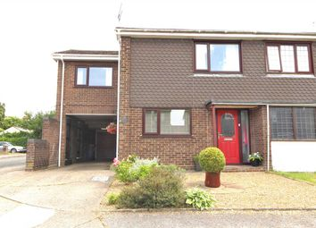 Thumbnail 4 bedroom semi-detached house for sale in Starfield Close, Ipswich