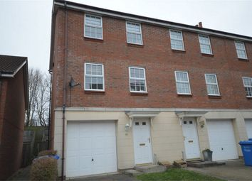 Thumbnail 3 bedroom end terrace house for sale in Copenhagen Way, Norwich