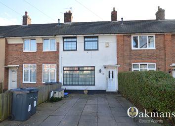Thumbnail 2 bedroom terraced house for sale in Hopstone Road, Birmingham, West Midlands.