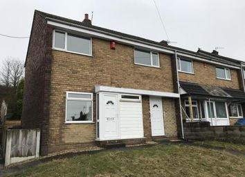 Thumbnail 3 bed end terrace house to rent in Keene Close, Norton, Stoke-On-Trent