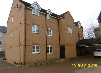 Thumbnail 2 bedroom flat to rent in Knights Court, St Neots