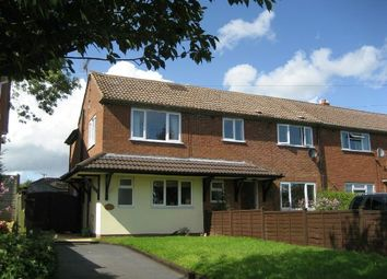 Thumbnail 2 bedroom end terrace house to rent in Fromes Hill, Ledbury