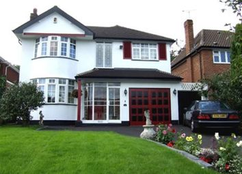 Thumbnail 4 bed property to rent in Maney Hill Road, Sutton Coldfield, Birmingham